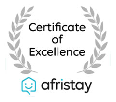 afristay certificate of excellence